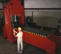 Travelling frame, Gantry style, long bed  presses available up to 1,000 to