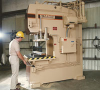 EC200 Straightening Hydraulic Presses